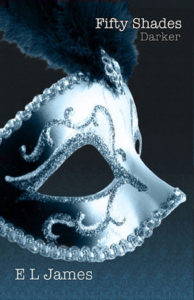 Fifty Shades Darker by E.L. James - Book Cover