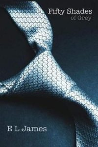 Fifty Shades of Grey by E.L. James - Book Cover