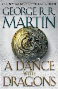 A Dance with Dragons by George R.R. Martin - Book Cover