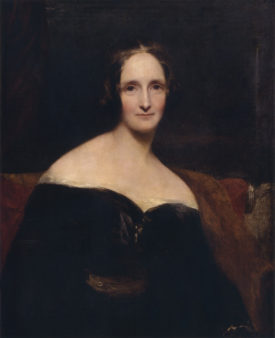 "Mary Shelley wrote the Gothic novel ""Frankenstein"""